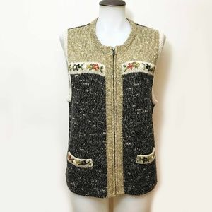Wool Blend Country Core Sweater vest